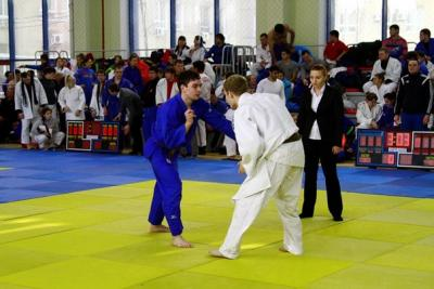 Results of the championship on judo