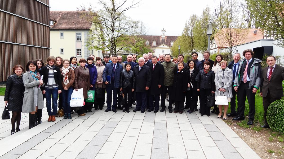 SSAU delegation's visit to Germany and the Czech Republic
