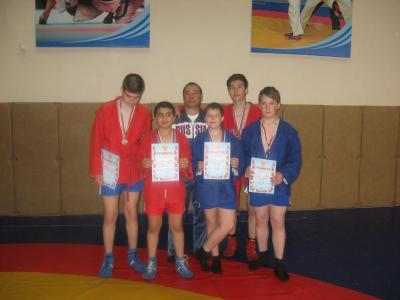 Urban Children and Youth sambo tournament