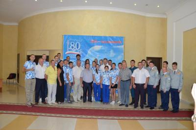 The exhibition of scientific and sporting achievements were held by the Government of Saratov region