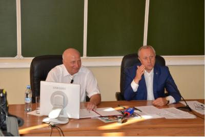 Valeri Radaev visited the SSAU named after N.I. Vavilov