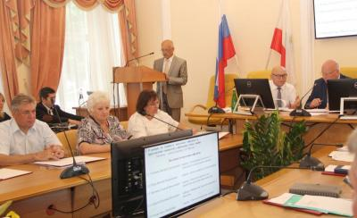 The Scientific Council Discussed the Issue of Project Work of Students