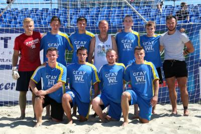 The team of Vavilov SSAU is a champion of the championship on beach football