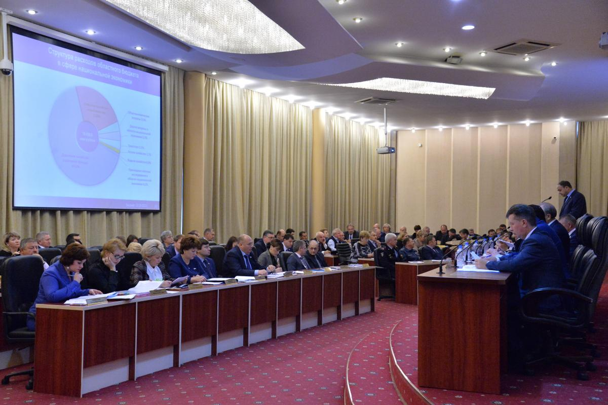 The Rector of the University made his speech at a meeting of the Government of the Saratov region. Фото 2