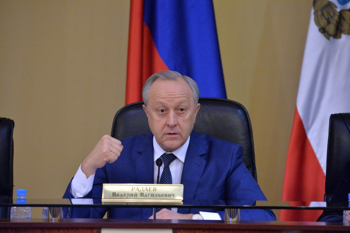 The Rector of the University made his speech at a meeting of the Government of the Saratov region. Фото 3