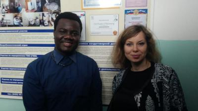 Visit of a representative from Zimbabwe to SSAU