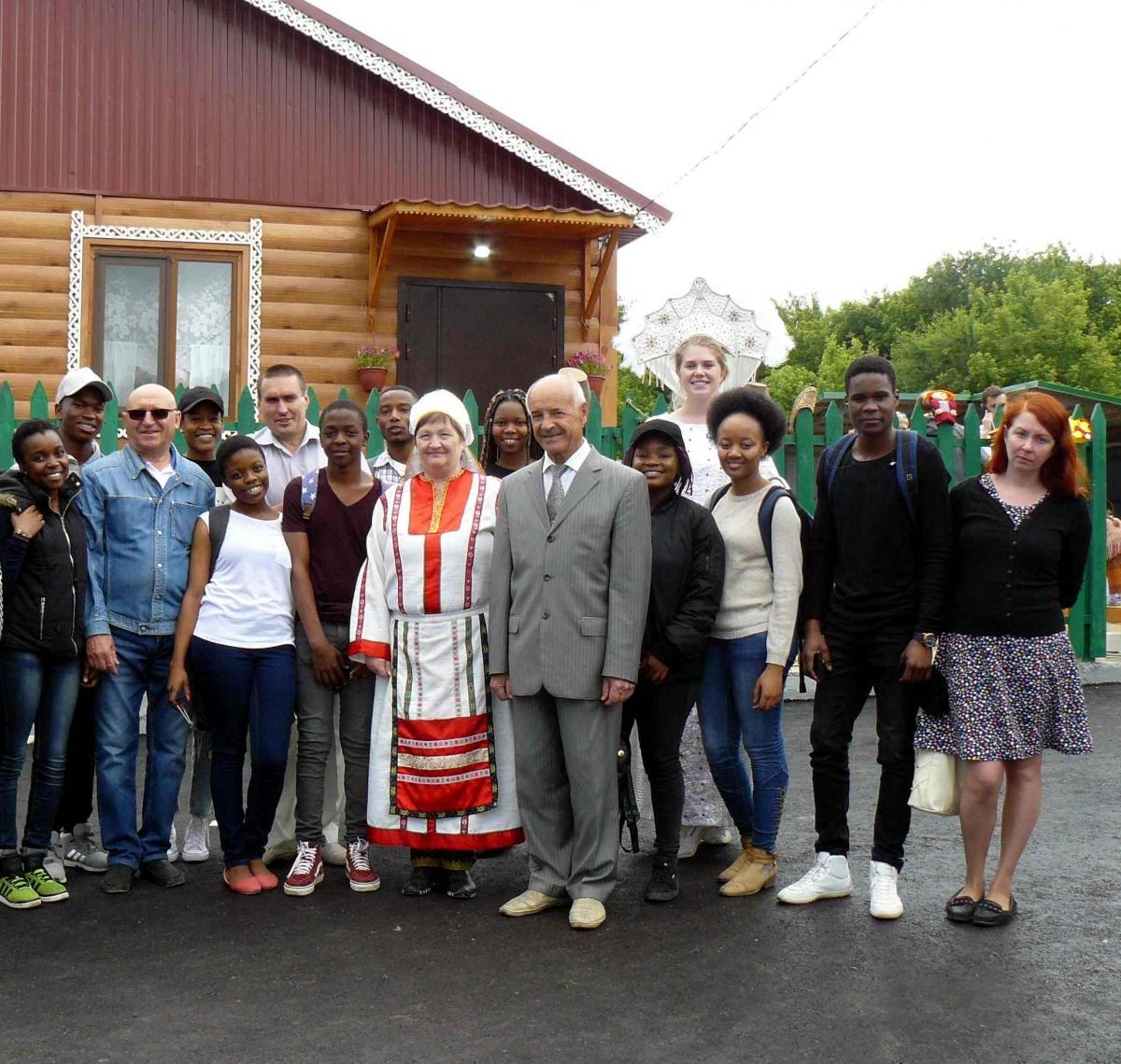 "Opening of the project ""Agroturizm in the Korolkovy Garden"" in UNPK ""Agrocentre"""