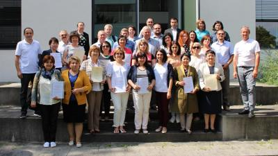 Participation of teachers in Erasmus seminar in the University of applied sciences Vayenshtefan-Trizdorf (Germany)