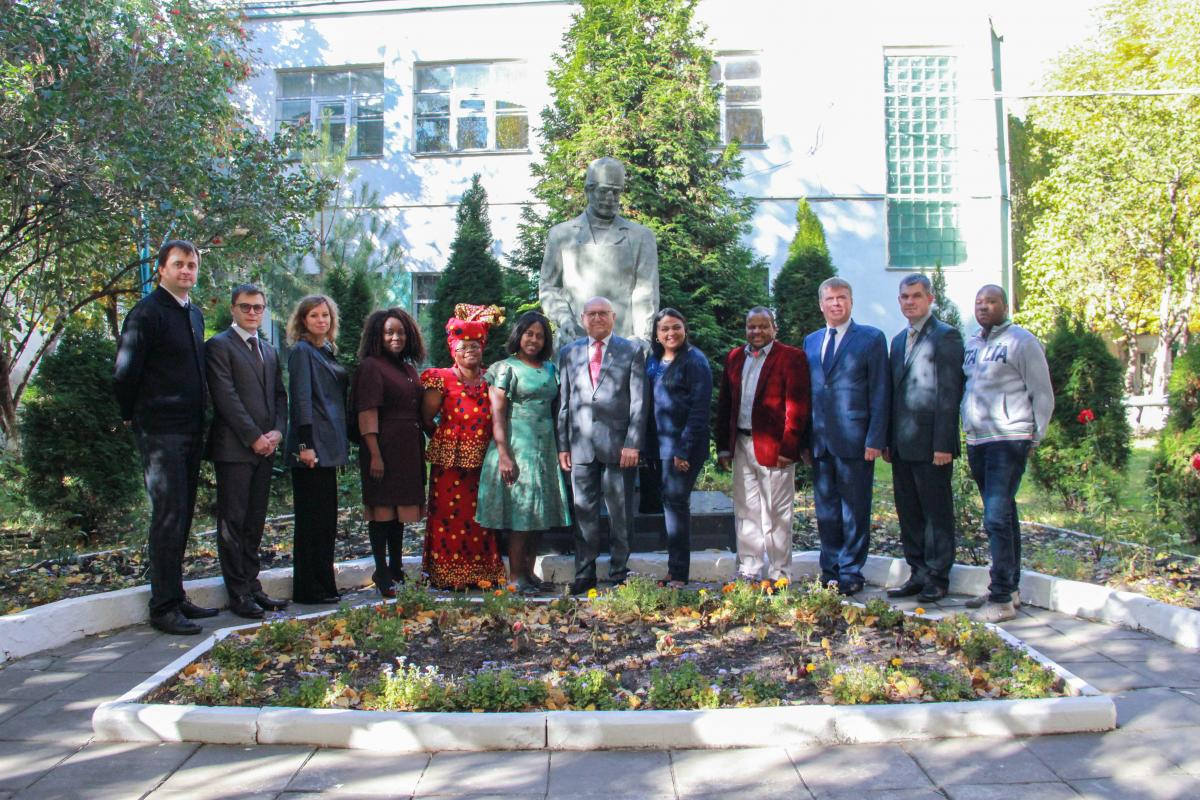 Visit of delegation from the Republic of South Africa