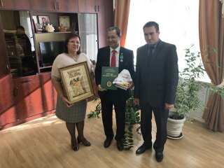 Osama of the attache's El Serui on the culture of the Arab Republic of Egypt in Russia visited SGAU of N.I. Vavilov