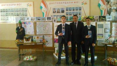 Vocational guidance work in Dushanbe