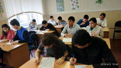 For foreign students, SSAU conducted a preparatory lesson for the Total Dictation-2019
