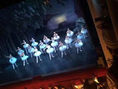 Far Overseas students watched the Swan Lake ballet. Фото 1