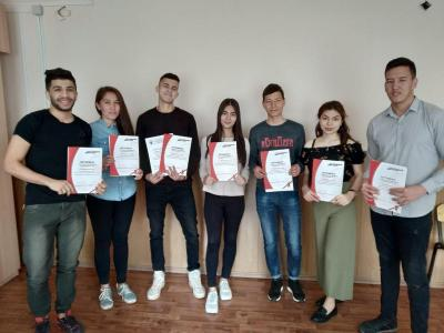 "Foreign students of Saratov - Excellent ""total dictation"""