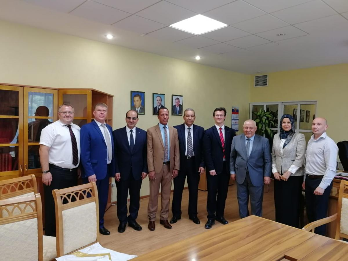 Visit of the delegation from Iraq