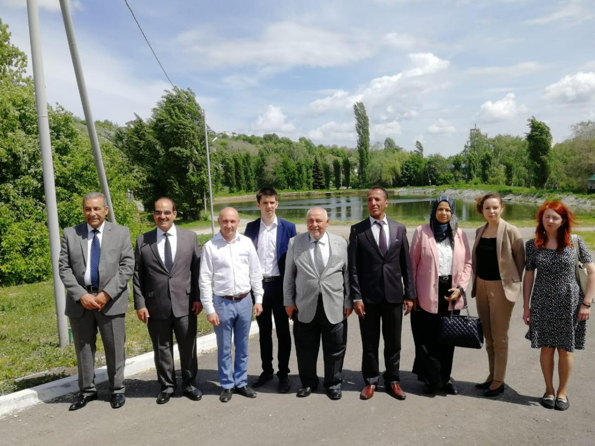 The visit of the Iraqi delegation from the University of Baghdad to the Saratov GAU continues. Фото 11