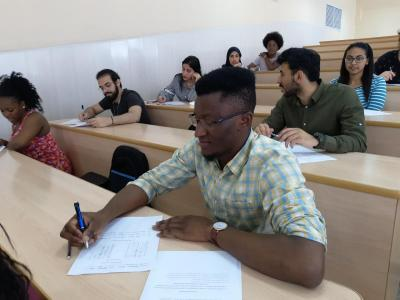 Final exams for students of the preparatory department