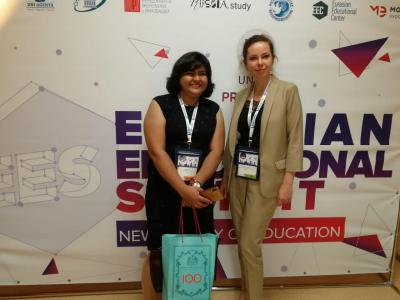 University participation in the Eurasian Summit on Higher Education