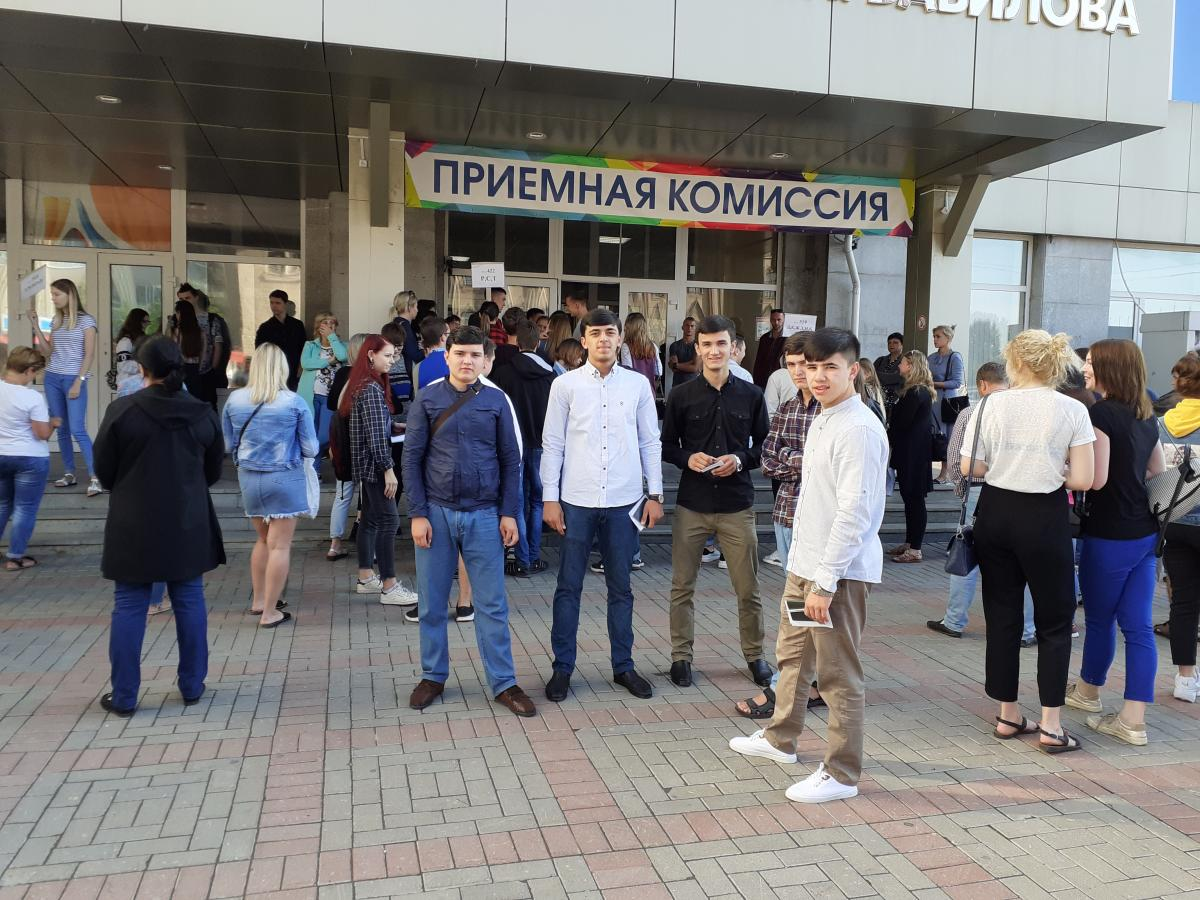 Guys from the Republic of Tajikistan came to enter the Saratov State Agrarian University