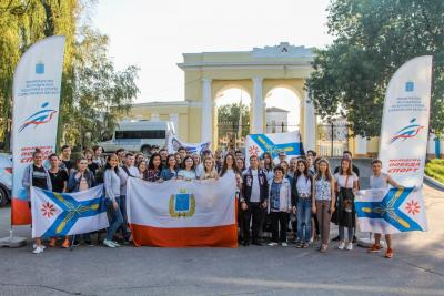 "Students of SSAU at the forum ""iVolga 2.0"""