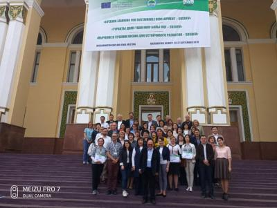 "The participation of the delegation of the Saratov State Agrarian University in the final conference of the project ""SUSDEV - lifelong learning for sustainable development"""