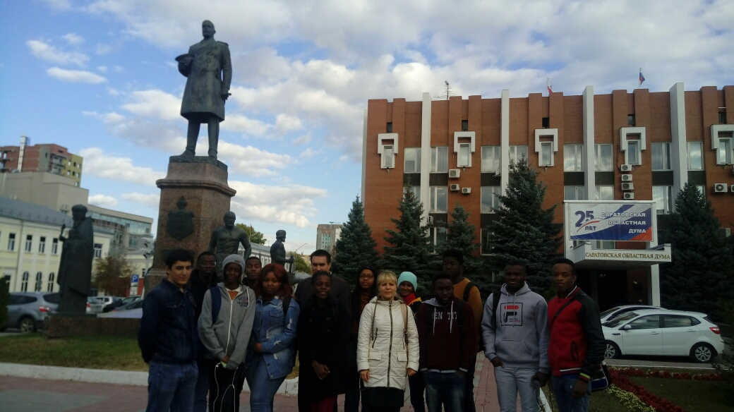 """Let's get acquainted!"". 1 year foreign students on a city tour. Фото 2"