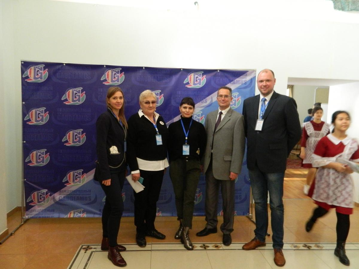 "SSAU employees in Kazakhstan at the exhibition ""Education and Science in the Russian Federation"". Фото 1"