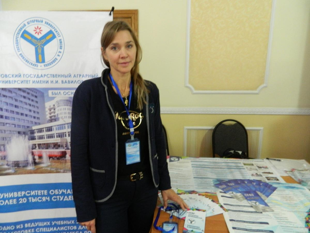 "SSAU employees in Kazakhstan at the exhibition ""Education and Science in the Russian Federation"". Фото 4"